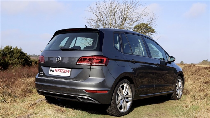 golf sportsvan highline 2018